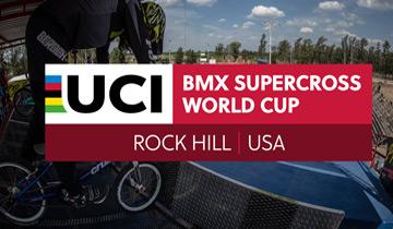 UCI BMX Supercross World Cup Rock Hill 2019