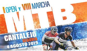 I Open y VIII Marcha MTB Cantalejo 2019
