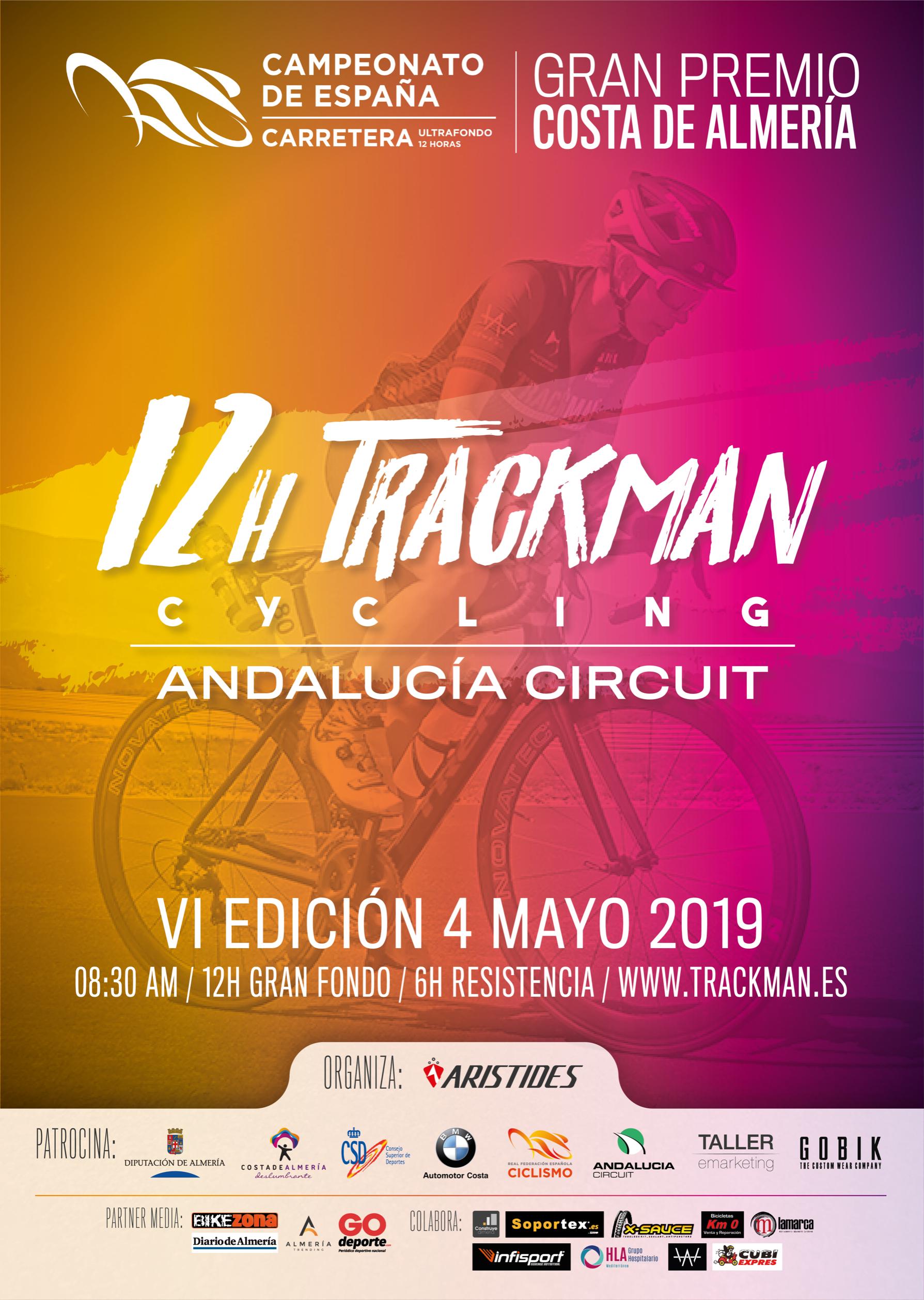 Andalucia Ciclismo Calendario.Vi 12h Trackman Cycling Andalucia Circuit 2019 Pista El 4 De
