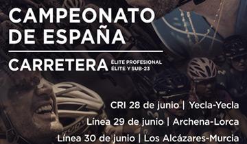 Campeonato España ciclismo en carretera Murcia 2019