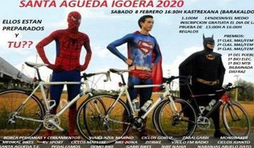 Cronoescalada Santa Agueda Igoera 2020