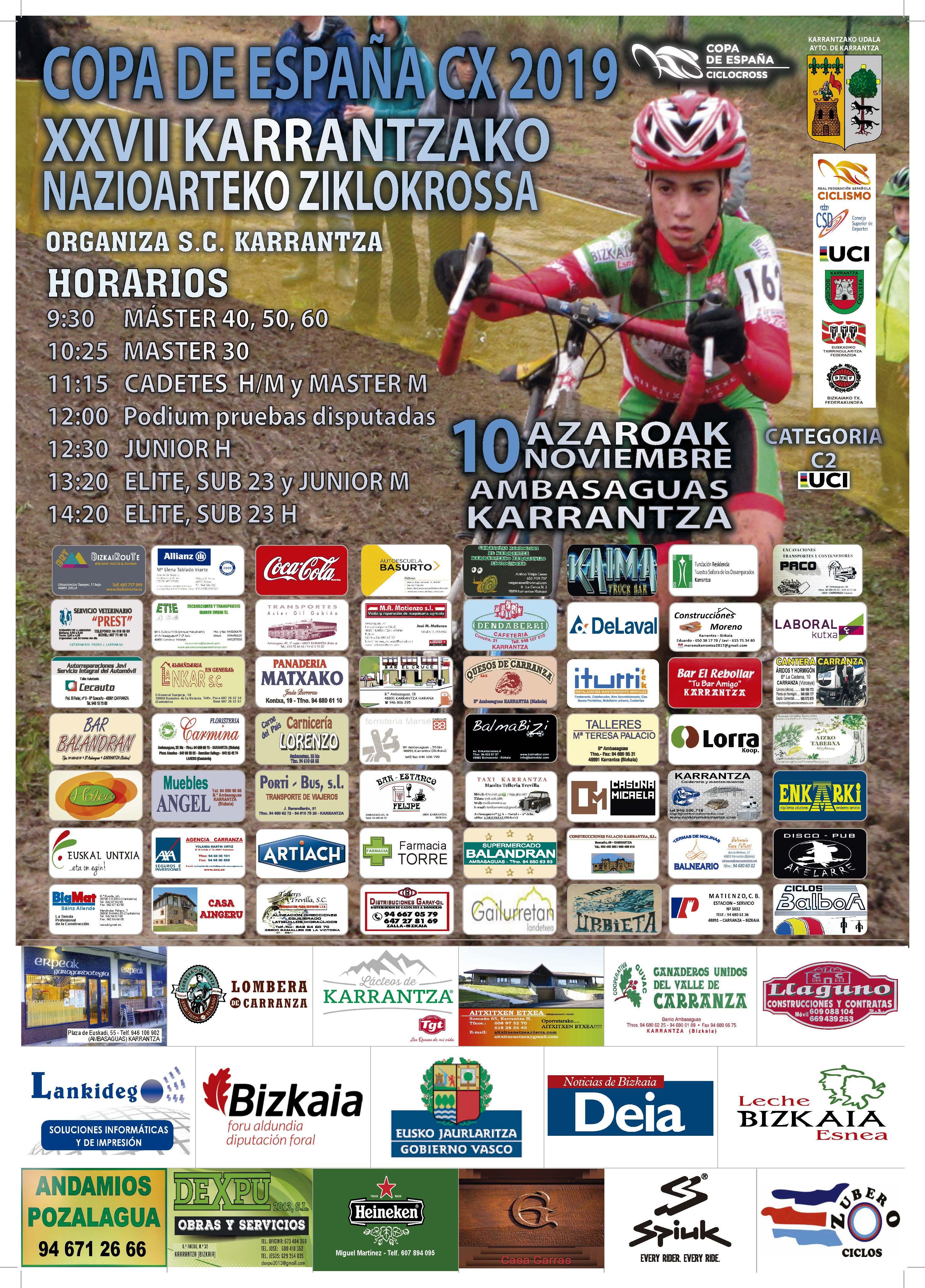 XXVII Ciclocross Internacional de Karrantza 2019