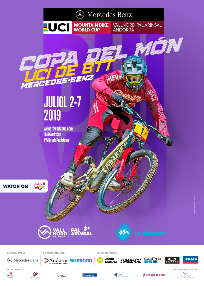 UCI Mountain Bike World DH Vallnord 2019