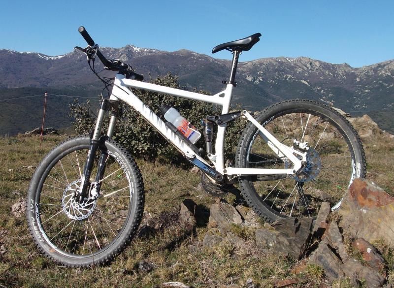 Pastillas de freno bicicleta gastadas