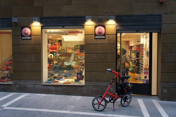 Vuelta a España en bicicleta plegable