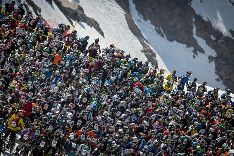 Megavalanche Alpe DHuez