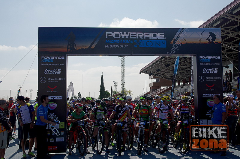 Ion non stop Powerade Madrid Lisboa 2014