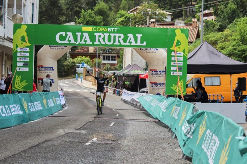 Copa Caja Rural<br>Volvió la competición al MTB