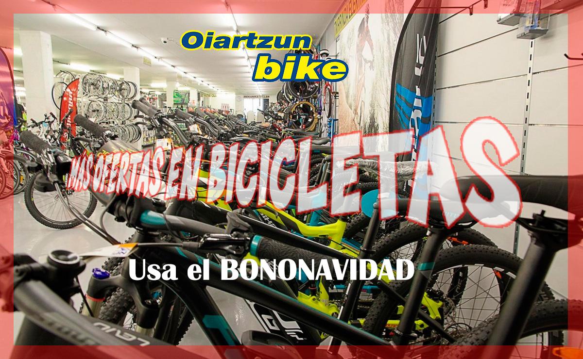 Ofertas Oiartzun Bike<br> Nuevo bono descuento
