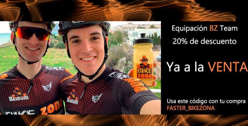 Equipación BikeZona Team