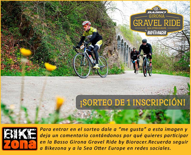 ¡Sorteo! .. ¿Quieres ir gratis a la  Basso Bikes Girona Gravel Ride by Bioracer?
