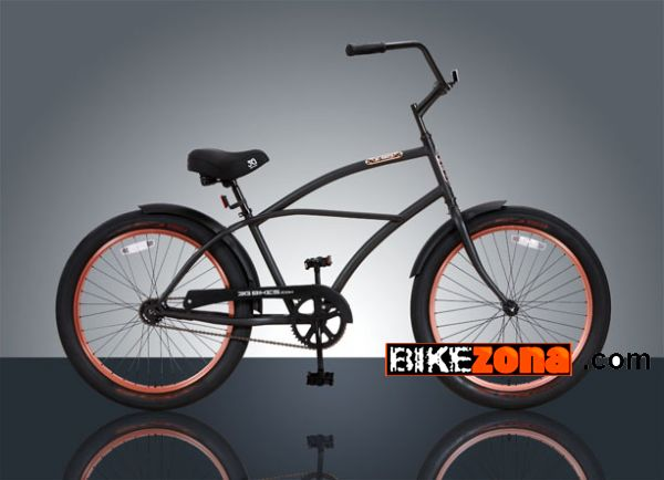 3G BIKES MATT BLACK AND COPPER
