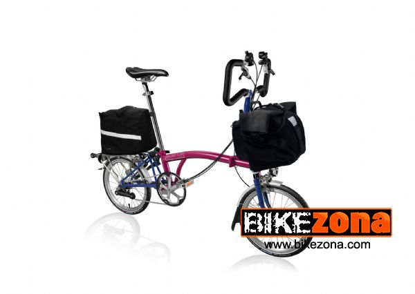 BROMPTON P6R WITH T BAG RACK SACK