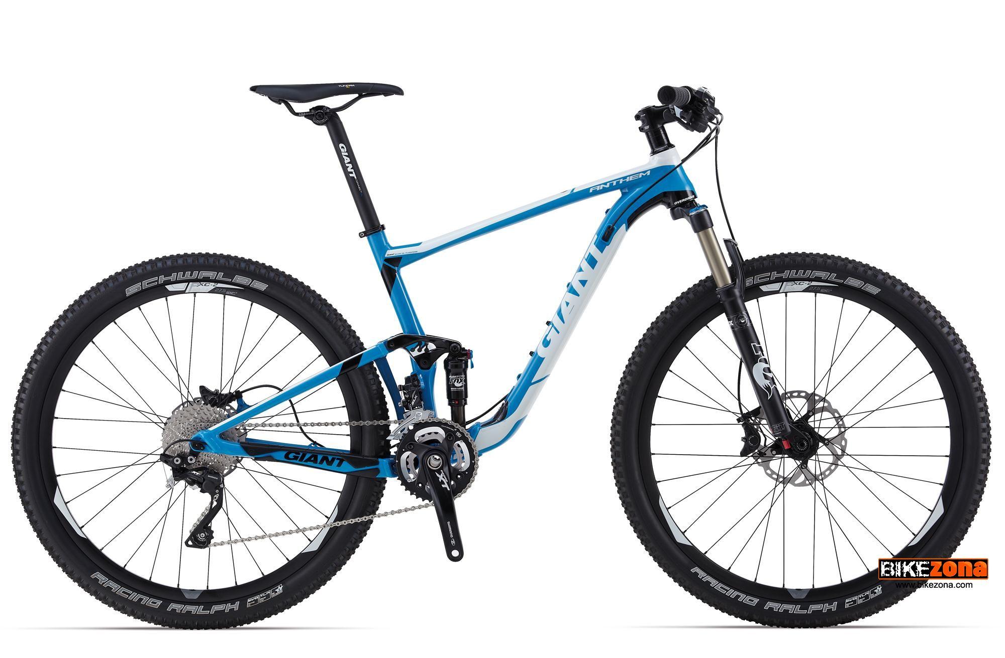 GIANT ANTHEM ADVANCED 27.5 O TEAM (2014) Bicicletas MTB - DOBLE XC | Catalógo bicicletas en ...