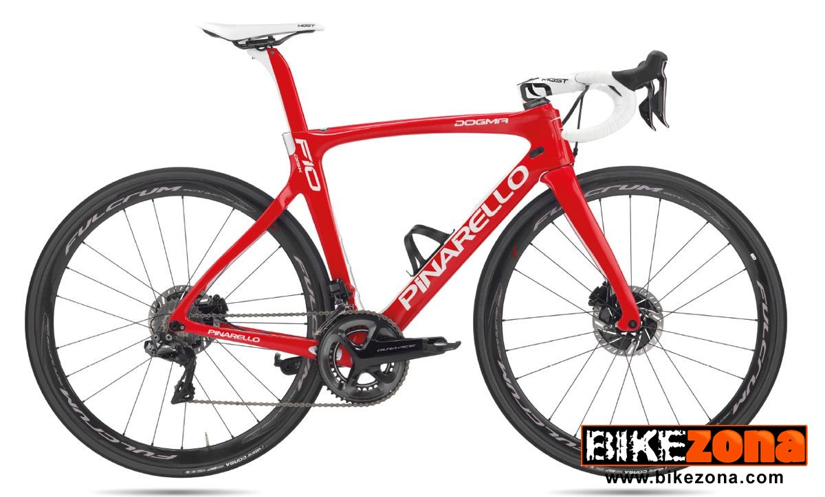 PINARELLO DOGMA F10 DISK RED ETAP /RACING (2019)