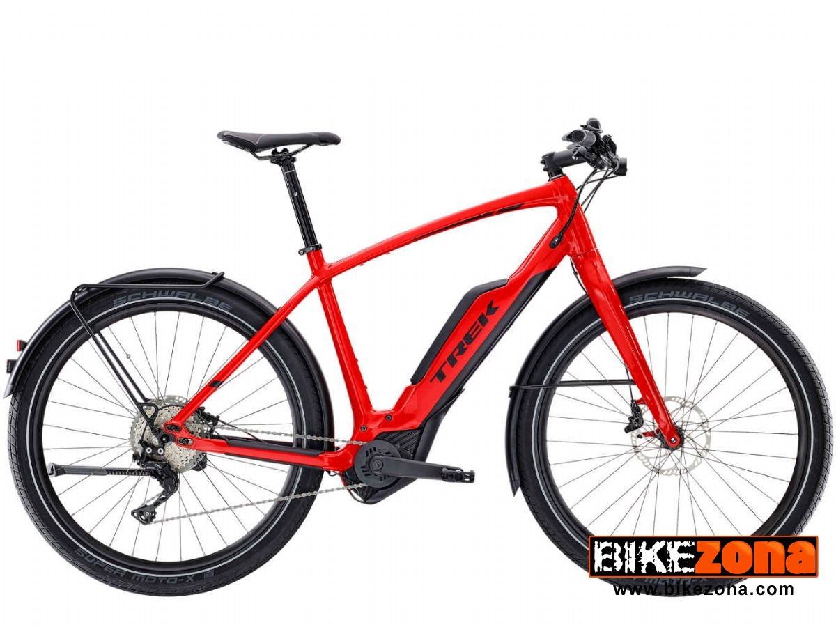 TREK&nbsp;SUPER COMMUTER + 8 &nbsp; <span style='color:#ff7132; font-size:22px ;text-shadow: 1px 1px 2px rgba(0, 0, 0, 1);'>4499 €</span>