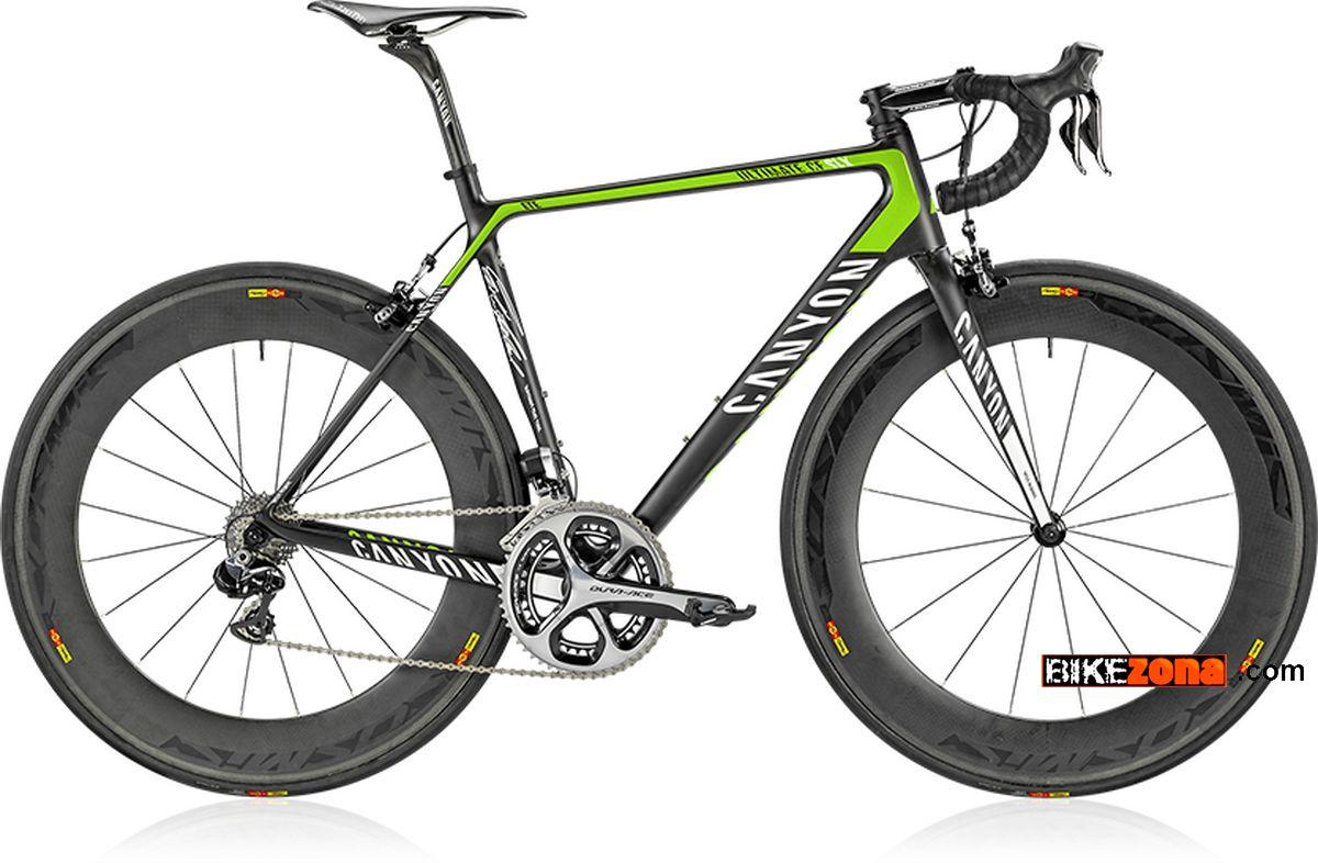 Dura Ace 9000 >> CANYON ULTIMATE CF CLX 9.0 ETE (2013) Bicicletas ...