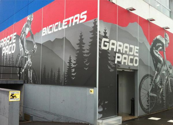 Garaje paco tienda bicicletas en asturias zona comercial - Garaje paco ...